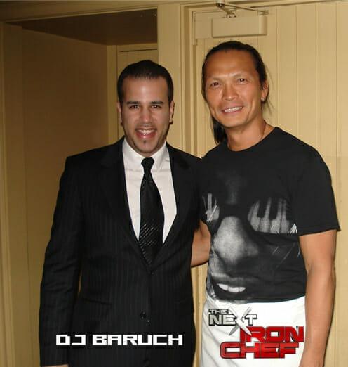 DJ BARUCH IRON CHEF